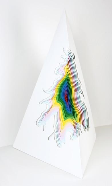 Объемные скульптуры из бумаги Jen Stark. Изображение № 10.
