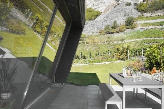 Дом в горах от Nunatak Architectes. Изображение № 5.
