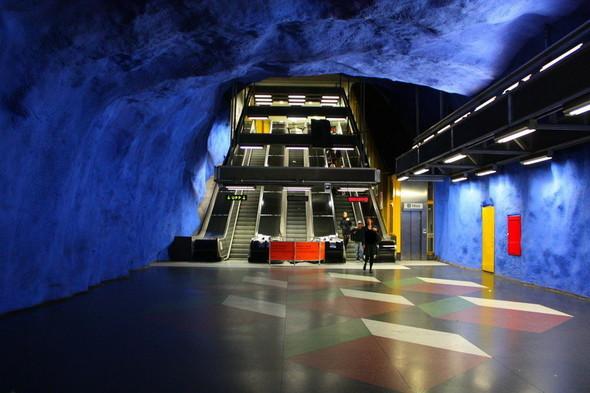 Шведский метрополитен. Изображение № 3.