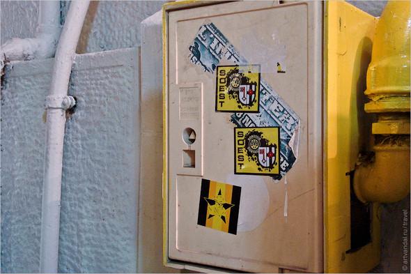 Стрит-арт и граффити Афин, Греция. Часть 2. Изображение № 22.