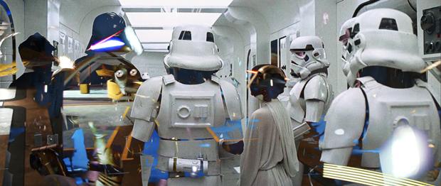Режиссёр наложил все «Звёздные войны» друг на друга. Изображение № 4.