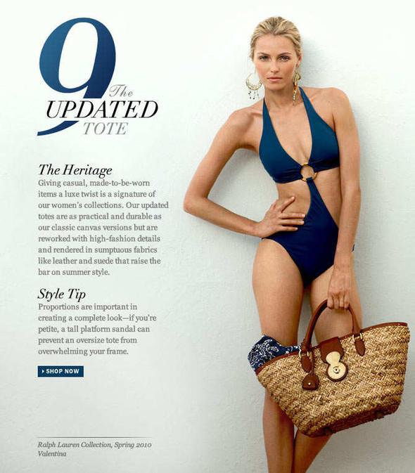 Ralph Lauren Women's Summer 2012 Top 10 Essentials. Изображение № 9.
