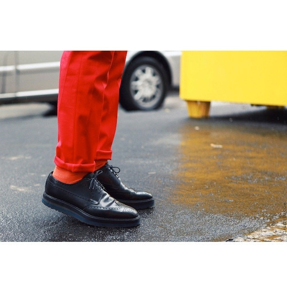 Изображение 64. На полях: 10 тенденций уличного стиля с прошедших недель моды.. Изображение № 64.