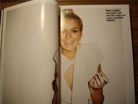 Линдси Лохан для Purple Fashion Magazine (продолжение). Изображение № 6.