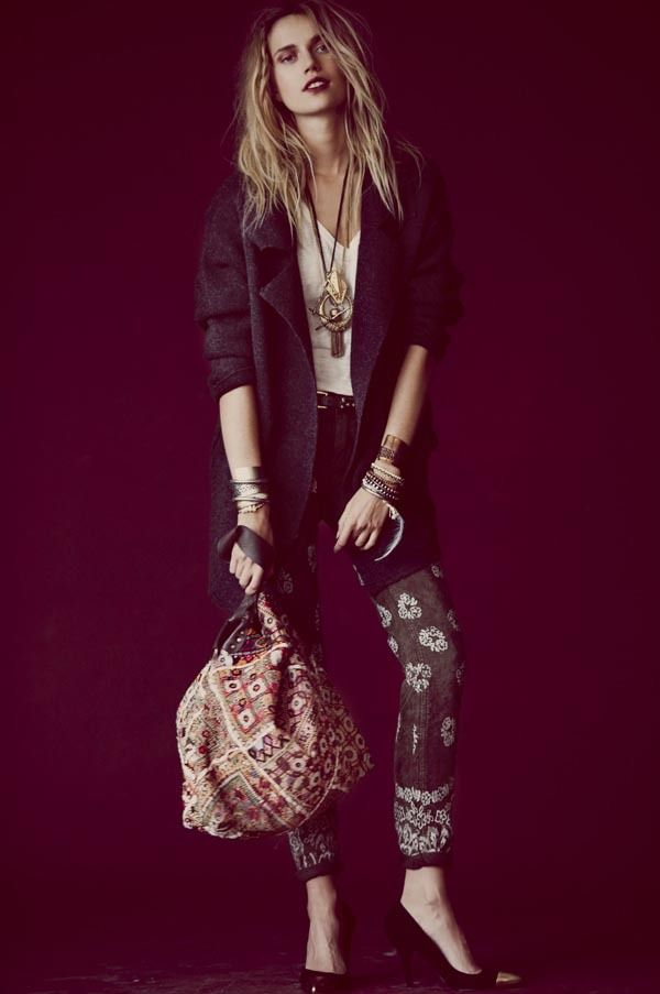 Вышли новые лукбуки Zara, Free People, Mango и других марок. Изображение № 12.