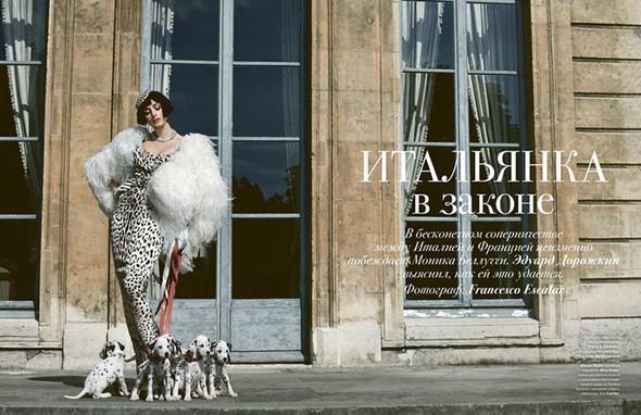 Моника Беллуччи (Monica Bellucci) в декабрьском Tatler Russia. Изображение № 4.