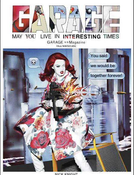 Обложки свежих номеров Bon, Garage, Purple Fashion, The Last и Vogue. Изображение № 4.
