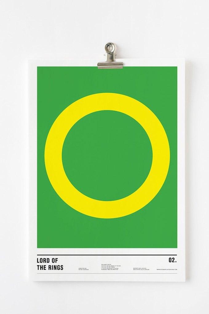 Концепт: постеры к фильмам только из кругов . Изображение № 7.