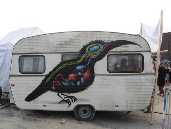 Животный стрит-арт от бельгийского граффитчика ROA. Изображение № 26.