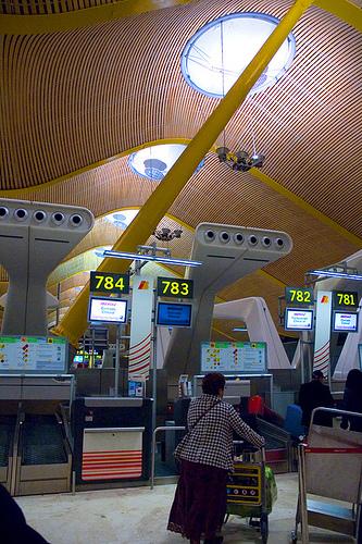 Madrid airport. Изображение № 2.