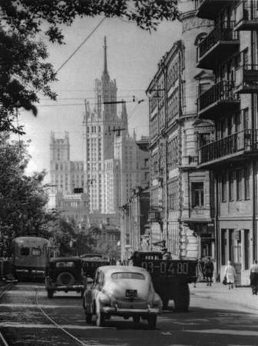 Яузский бульвар, 1950 г.. Изображение № 84.