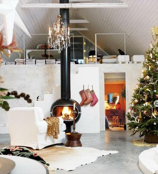 Рождественский декор дома. Простые идеи. Изображение № 11.