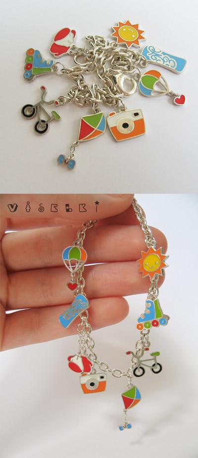 Изображение 4. Charm bracelet от Саши Кузьмичевой.. Изображение № 4.