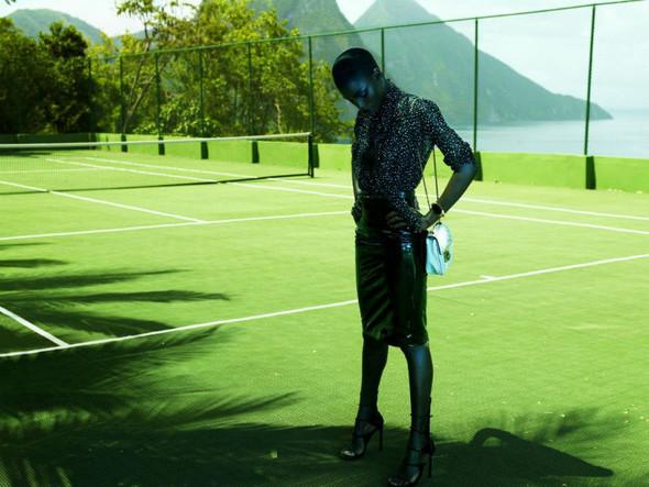 Съёмка: Дженейл Уильямс для Elle. Изображение № 8.
