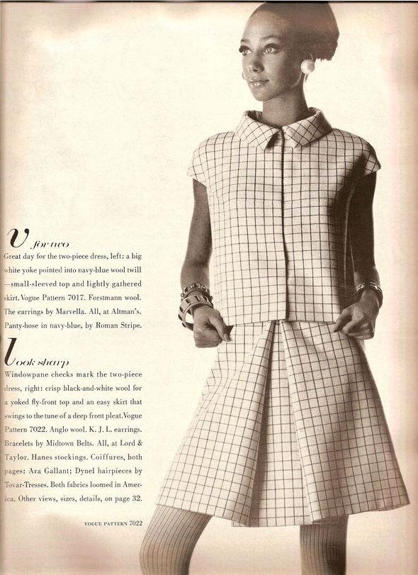 «Выгляди великолепно» каквVogue 1967 года. Изображение № 19.