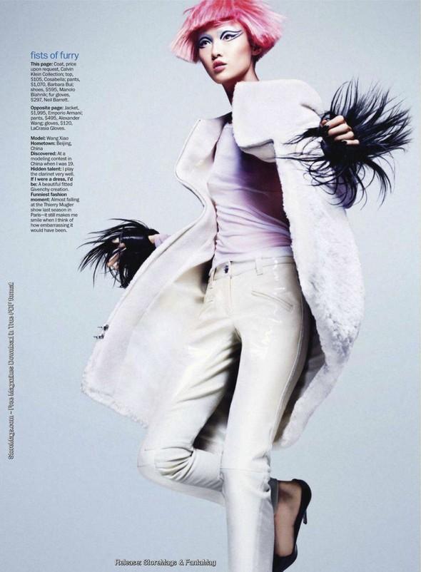 Съёмка: Ван Сяо для Marie Claire. Изображение № 5.