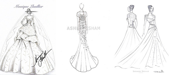 Monique Lhuillier      Ashley Isham      Suzanne Neville. Изображение № 28.
