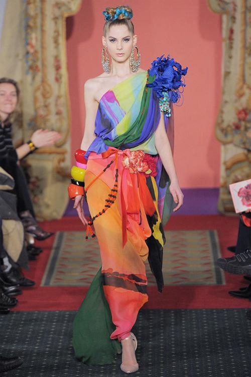 Неделя высокой моды вПариже: Кристиан Лакруа. Изображение № 11.