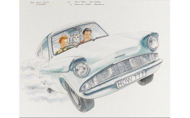 Выставленные на аукцион иллюстрации Клиффа Райта. Изображение № 2.