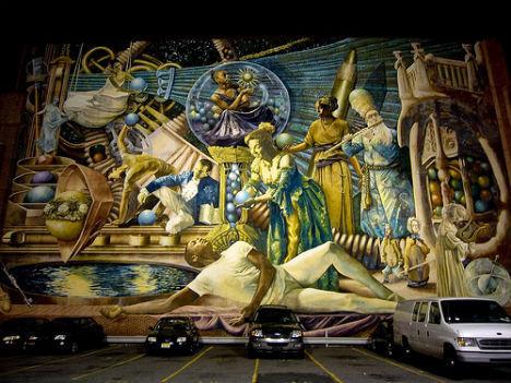 6 невероятных проектов уличных фресок. Изображение № 8.