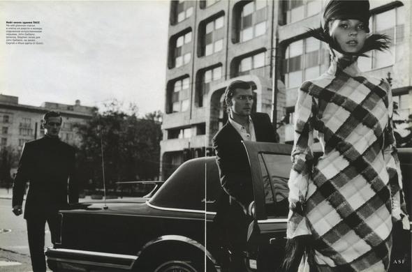 Первый номер Vogue Russia. PART 2. Изображение № 5.