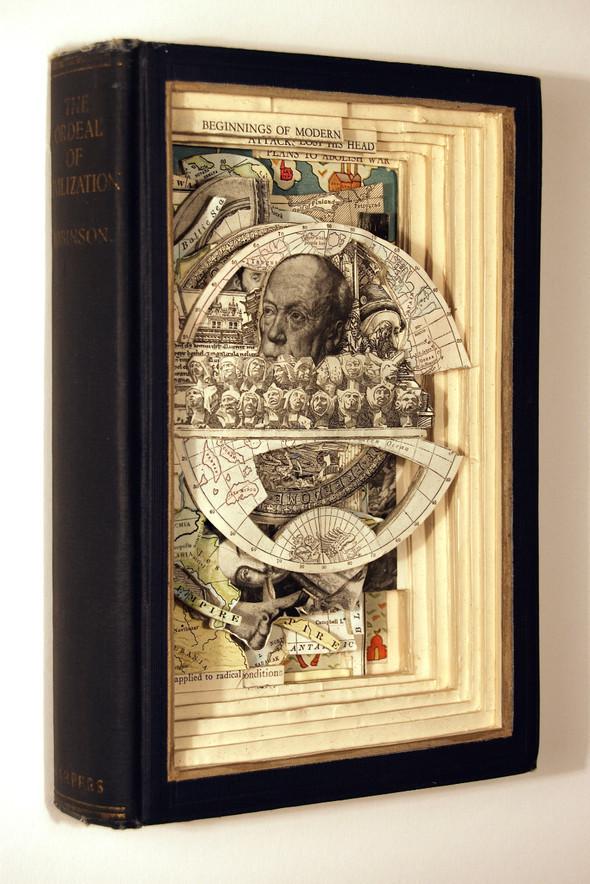 Book carving отБрайана Деттмера [Brian Dettmer]. Изображение № 2.