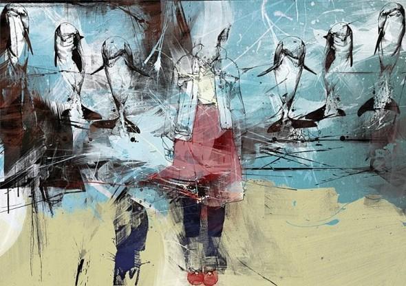 Russ Mills : графика, фотография и живопись. Изображение № 47.