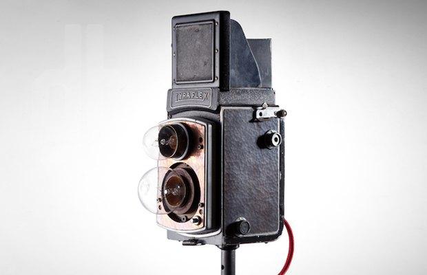 Винтажные фотоаппараты превратили в предметы интерьера. Изображение № 2.