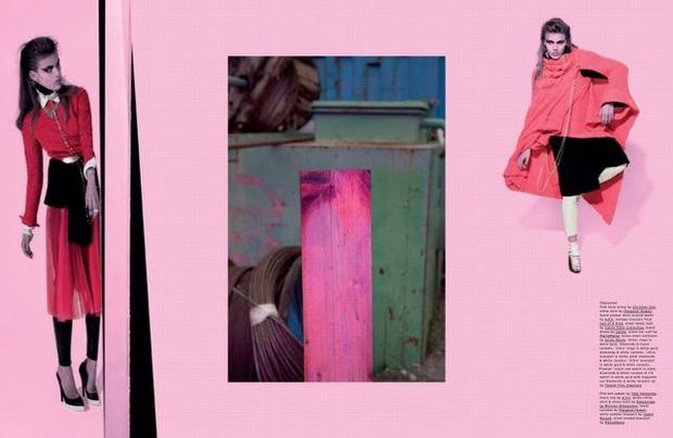 Новые съемки Dazed & Confused, Vogue, Pop и Madame Figaro. Изображение № 27.