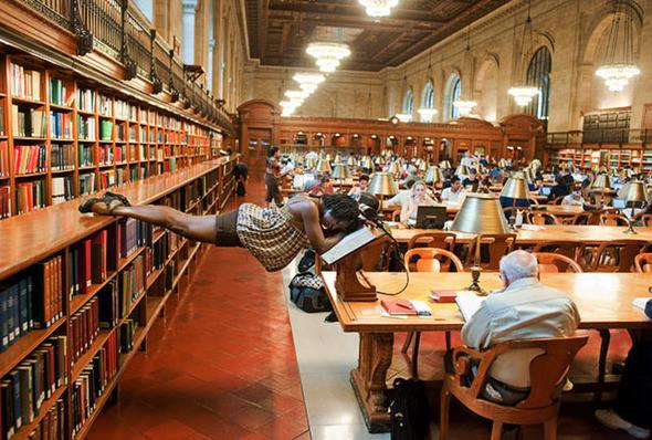 Мишель Флит, библиотека Нью-Йорка. (JORDAN MATTER PHOTOGRAPHY / BARCROFT USA). Изображение № 10.