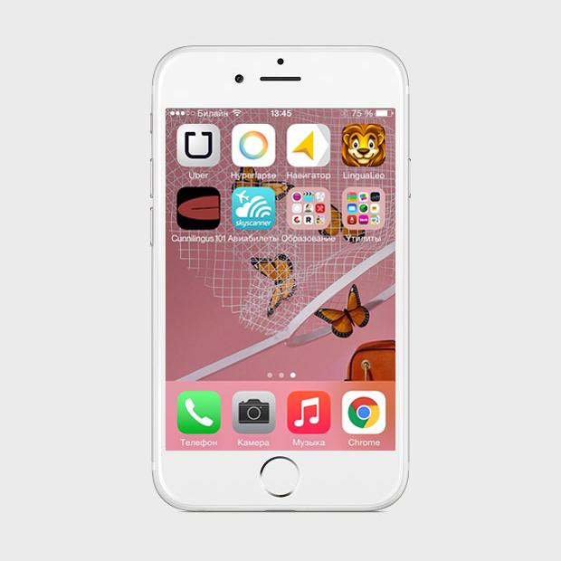 Экран моего смартфона: фотограф Алина Никитина. Изображение № 3.
