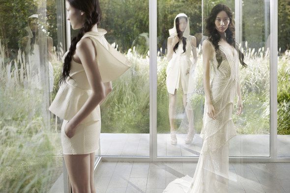 Кампания: Vera Wang SS 2012. Изображение № 4.