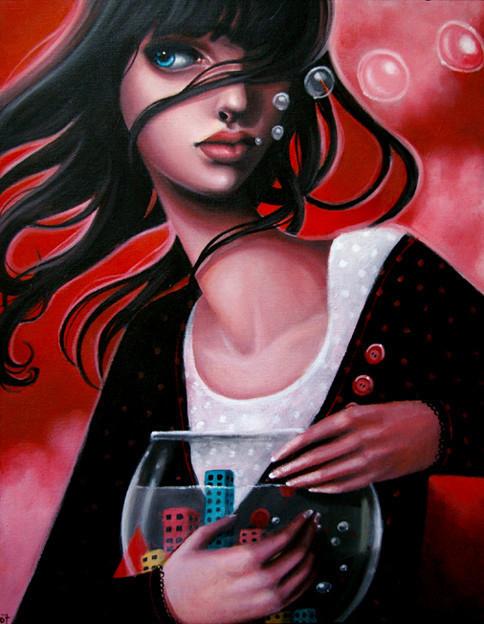 Sarah Joncas – девушки, рыбы измеи. Изображение № 15.