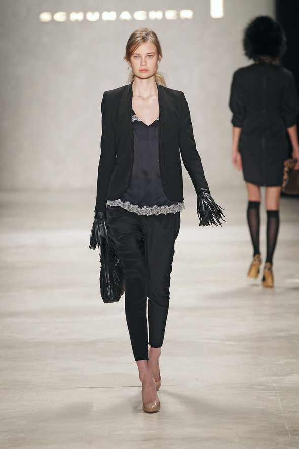 Berlin Fashion Week A/W 2012: Schumacher. Изображение № 47.