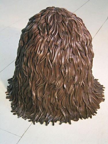"""""""Меховые"""" скульптуры из керамики, резины и бронзы. Изображение № 3."""