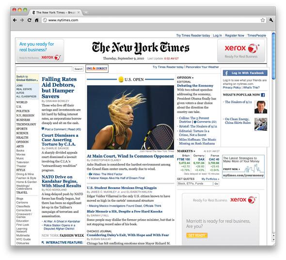 New York Times собирается отказаться от печатной версии. Изображение № 1.