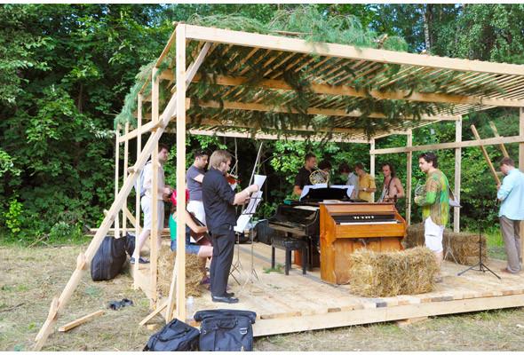 Репортаж с фестиваля «Архстояние 2011». Изображение № 41.