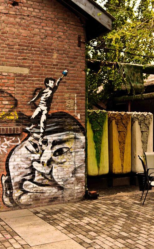 Street Art в районе 798. Пекин. Изображение № 26.