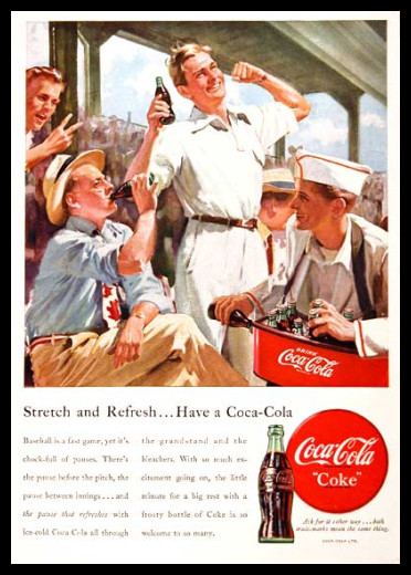 Изображение 37. Coca-cola – История бренда, история рекламы.. Изображение № 37.
