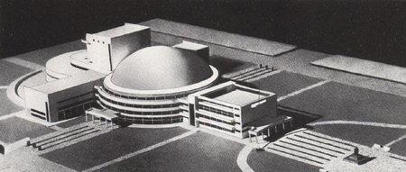 1931 Г. панорамно-планетарный театр вНовосибирске. Изображение № 2.