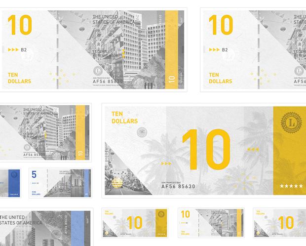 Студент представил редизайн банкнот американского доллара. Изображение № 4.