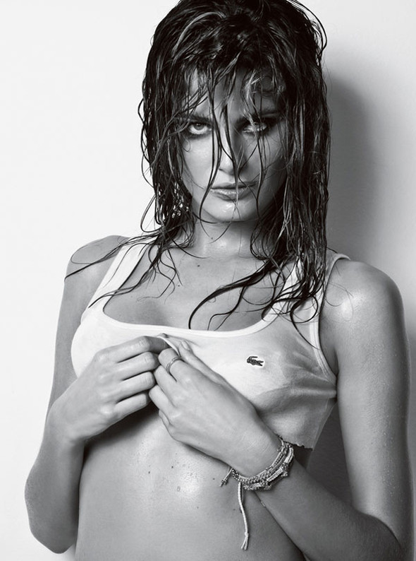 Vogue Homme Brazil Isabeli Fontana by Jacques Dequeke. Изображение № 9.