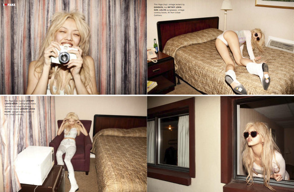 I LOVE FAKE - самые интересные фотосессии журнала. Изображение № 5.