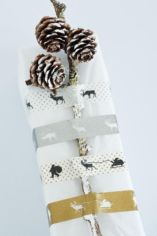 55 идей для упаковки новогодних подарков. Изображение № 32.