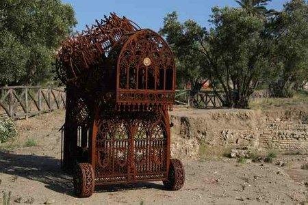Gothic excavator sculpture. Изображение № 11.