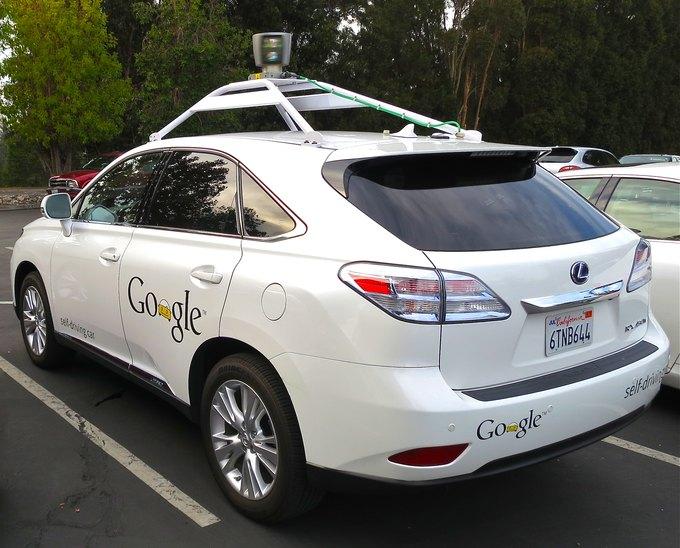 Lexus RX450h, оборудованный беспилотной системой Google. Изображение № 1.