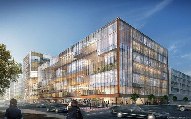 Uber представил проект будущей штаб-квартиры в Сан-Франциско. Изображение № 2.