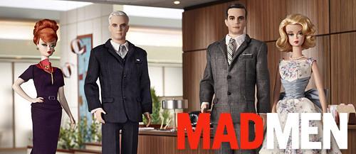 Куклы Барби по сериалу Mad Men. Изображение № 1.