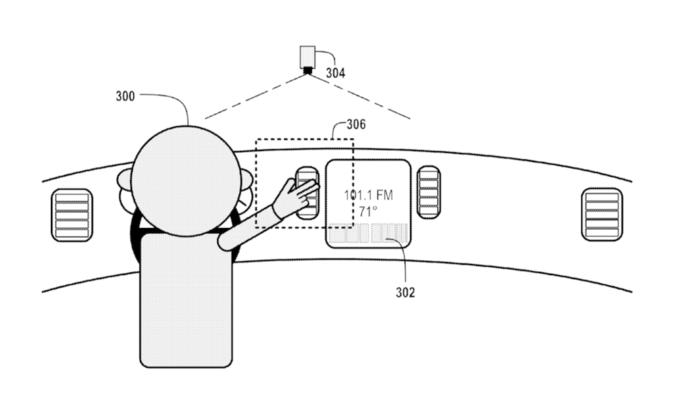 Google получила патент на управление автомобилем жестами. Изображение № 1.