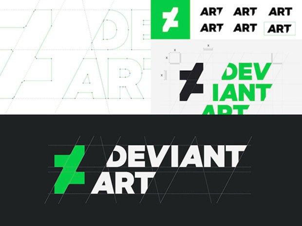 Онлайн-галерея DeviantArt показала новый логотип. Изображение № 1.